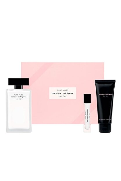 Narciso Rodriguez For Her Pure Musc Edp 100 ml + Body Lotion 75 ml + Edp 10 ml 3423478991057