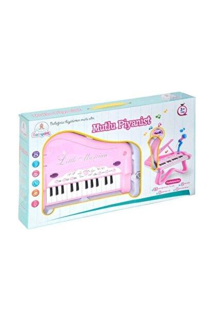 Birlik Oyuncak Mutlu Piyanist Mikrofonlu Piyano