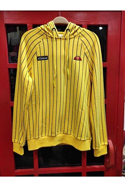 TEEMOOD PIRATE PARROT Sarı Cizgili 2020 Sezon Sweatshırt