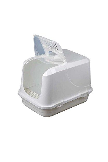 Sera Beyaz Xxl Kapalı Kedi Tuvaleti,paspas,filtre,kürek