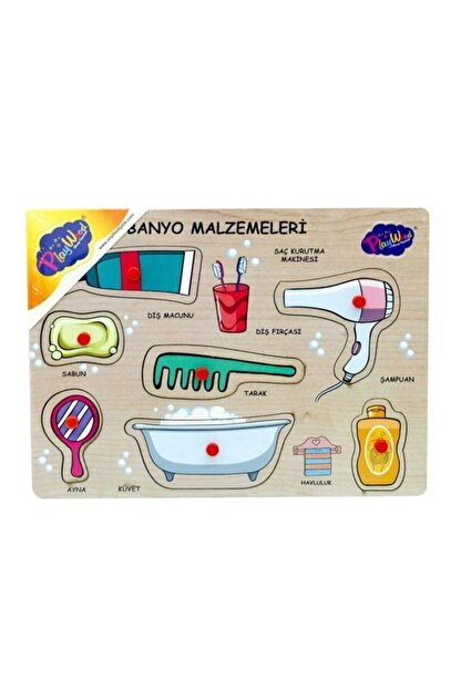 ONYIL Ahşap Tutmalı Banyo Malzemeleri