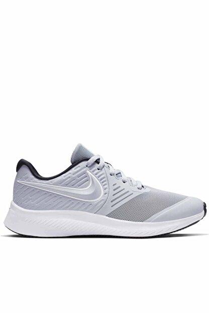 Nike Kadın Beyaz Spor Ayakkabı  Star Runner 2 Gs Aq3542-005