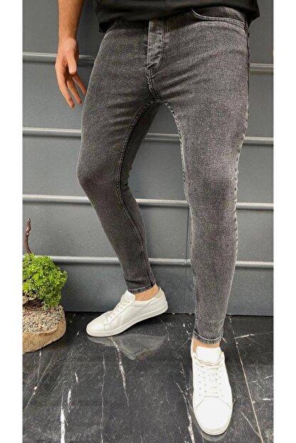 CARİSMA 81 Erkek Antrasit Gri Skinny Fit Dar Paça Pantolon
