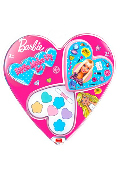 Barbie Kalp Kutulu Makyaj Seti