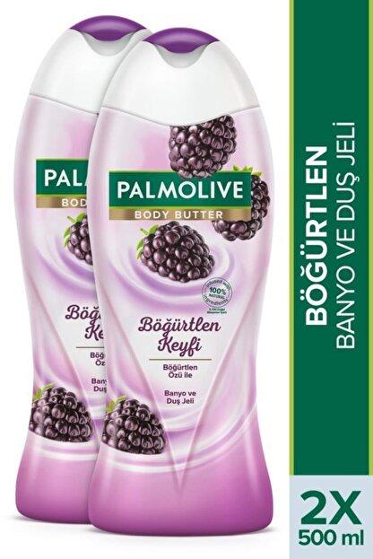 Palmolive Body Butter Böğürtlen Keyfi Banyo Ve Duş Jeli 2x 500 ml