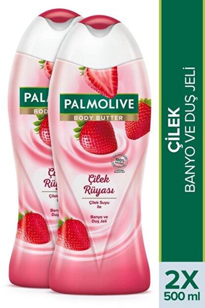 Palmolive Body Butter Çilek Rüyası Banyo Ve Duş Jeli 2x 500 ml