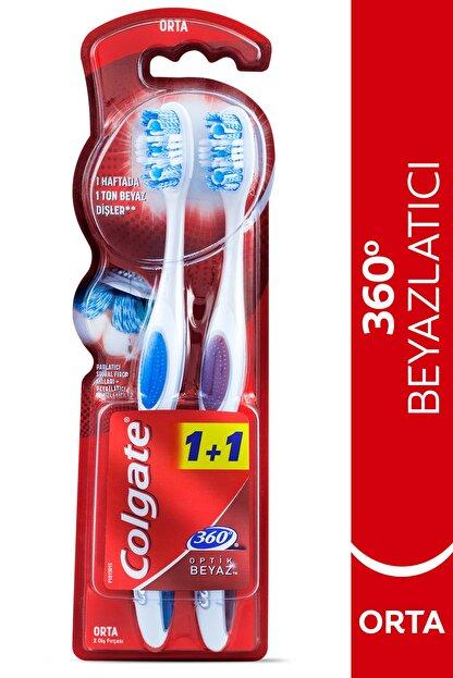 Colgate Optik Beyaz Diş Fırçası Orta 1+1