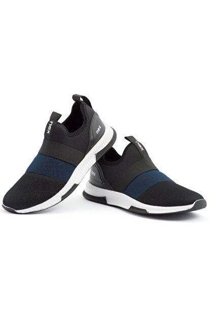 NEX 707 Siyah Lacivert Erkek Spor Ayakkabı