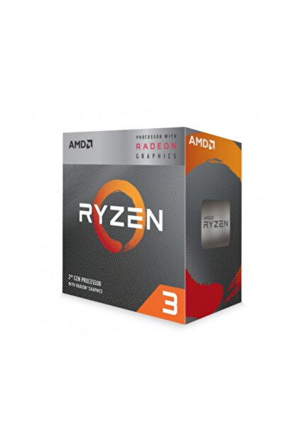 Amd Ryzen 3 3200G 3.6 GHz AM4 Soket 6MB Önbellek 65W 12nm İşlemci YD3200C5FHBOX
