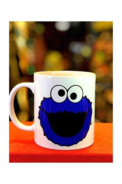 Retina Shop Kurabiye Canavarı Kupa Bardak Cookie Monster