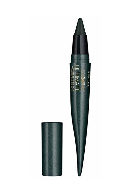 Rimmel London Suya Dayanıklı Eyeliner - 24 Saat Kalıcı Ultimate Kohl Kajal Smoked Emerald 3614225335259