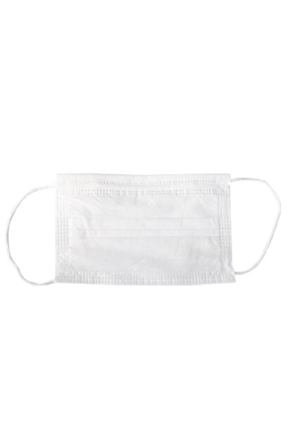 MasifConcept 50 Adet 3 Katlı Cerrahi maske CE Belgeli Sterilize Kutu Burun Telsiz