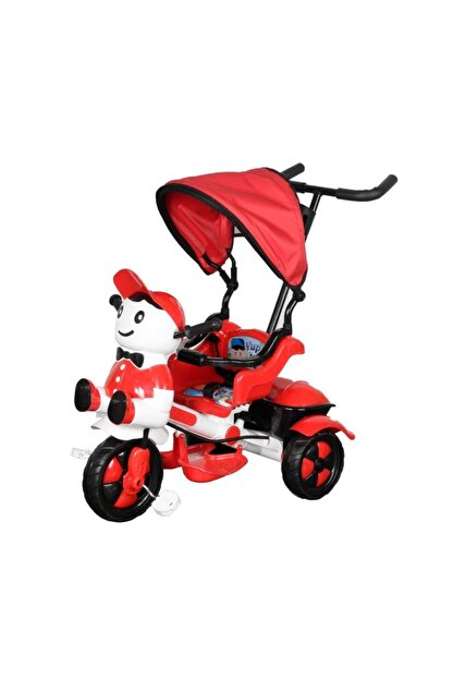 Babyhope Çift Kol Itmeli Bisiklet Kırmızı Bisiklet