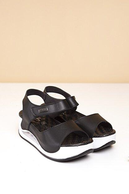 Pierre Cardin PC-1406 Siyah Kadın Sandalet