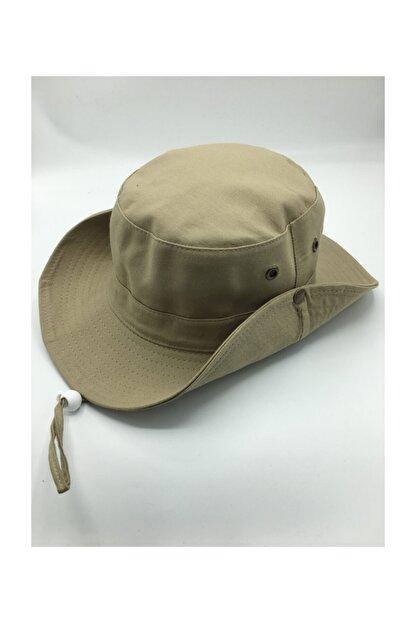 GONCA ŞAPKA Unisex Yazlık Katlanabilir Safari Fötr Şapkası