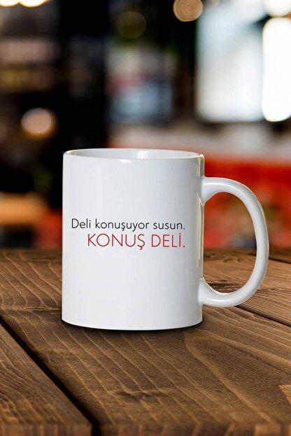Phi Ajans Konuş Deli Kupa Bardak
