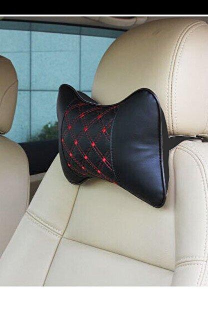 AutoFresh Renault Koleos Koltuk Uyumlu Başlık Yastığı Seyahet Konfor Seti Lüks Ortopedik Suni Deri Spor Model