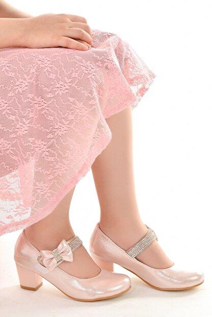 Kiko Kids Kiko 752 Vakko Günlük Kız Çocuk 4 cm Topuk Babet Ayakkabı