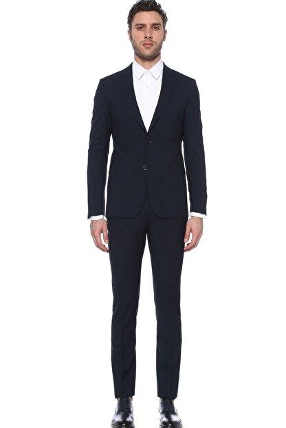 Network Erkek Slim Fit Lacivert Takım Elbise 1075582