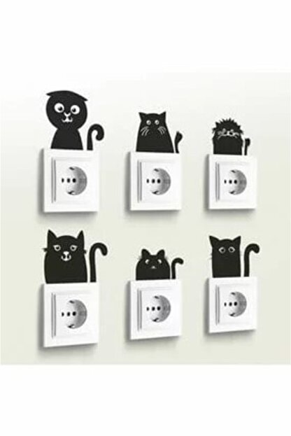 Ev Aşkı 6 Lı Priz Sticker