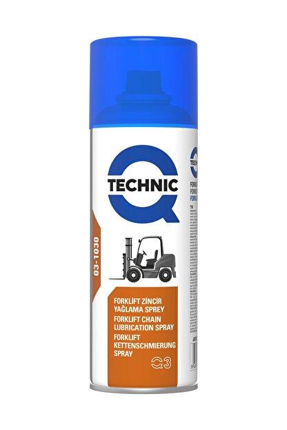 Qtechnic Zincir Yağlama Spreyi (forklift Ve Iş Makinası Için) 400ml