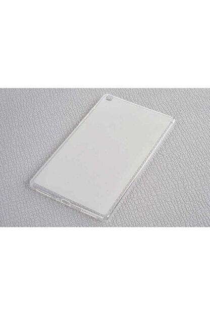 Dijimedia Samsung Galaxy Tab A 8.0 T290 Kılıf Süper Silikon Beyaz
