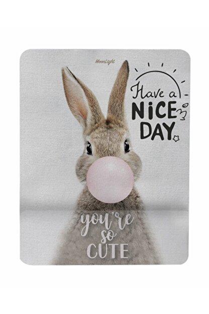 GameBoss Rabbit Nice Day Bilek Destekli Tasarım Mouse Pad