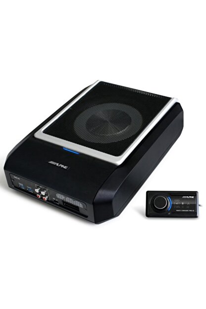 Alpine Pwd-x5 440 Watt Koltuk Altı Subwoofer + 4 Kanal Dsp Amplifikatör