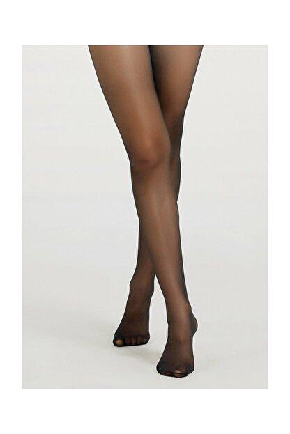 Suwen Tulle Külotlu Çorap - Siyah