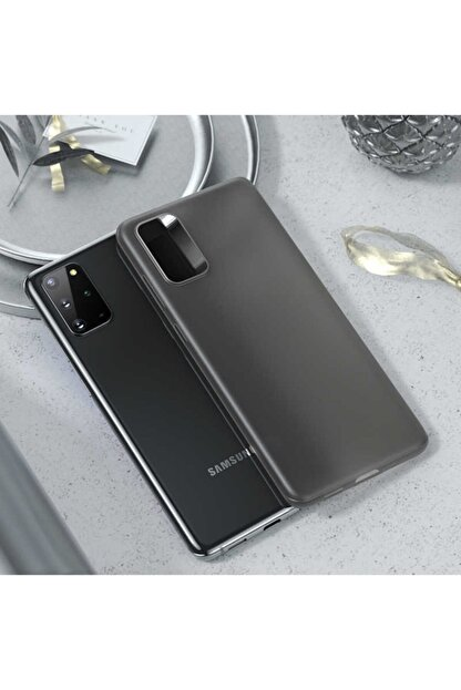 Benks Samsung Galaxy S20 Plus Parmak Izi Bırakmayan Kılıf Siyah