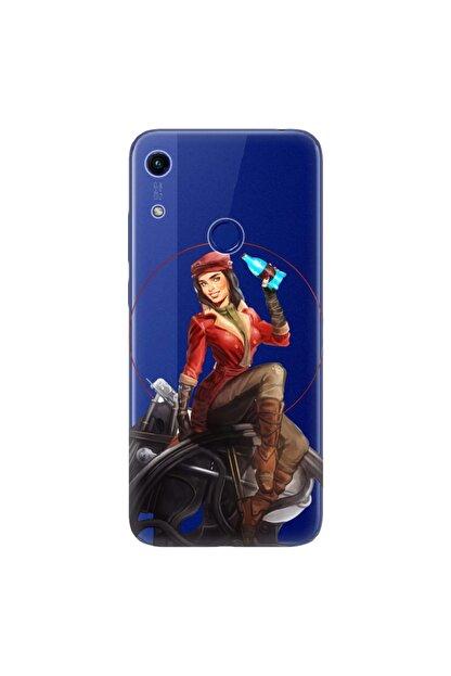 Cekuonline Huawei Y6s 2019 Kılıf Desenli Resimli Hd Silikon Telefon Kabı Kapak - Fallout Piper