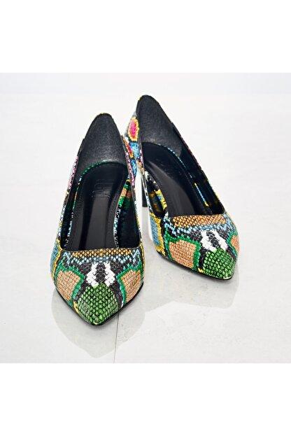 LuviShoes Kadın Renkli Günlük Ayakkabı