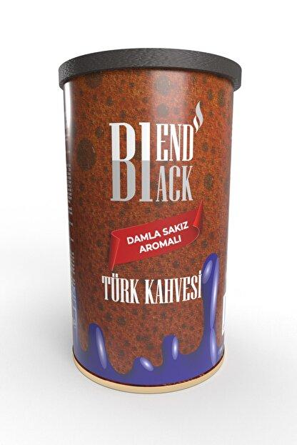 Blendblack Damla Sakız Aromalı Türk Kahvesi 250gr Teneke Kutu