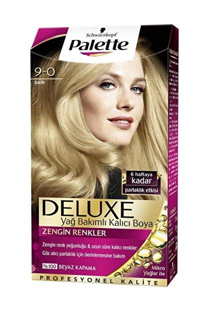 Palette Deluxe Kit Sarı (9.0) Saç Boyası