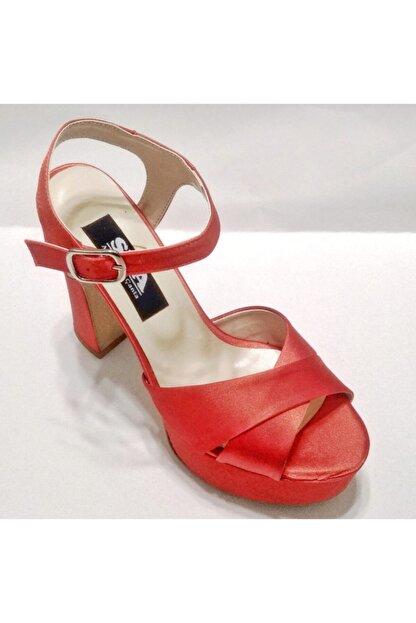 Silver Seapabuc Pilatformlu Kalın Topuk Abiye Ayakkabı