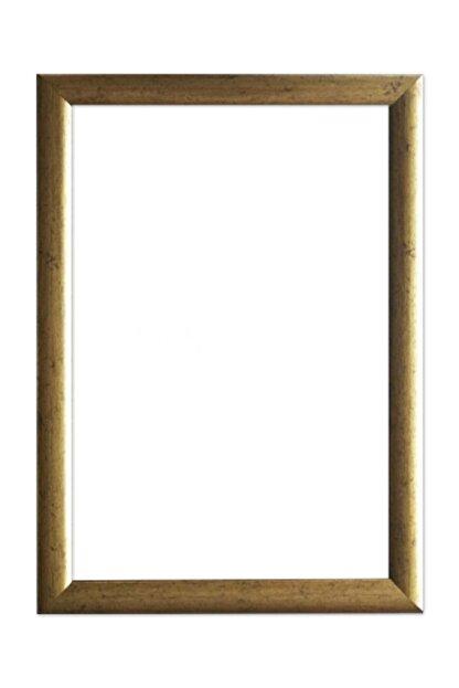 LYN HOME & DECOR 23,5x33,5 Cm Eskitme Sarı Fotoğraf Çerçevesi