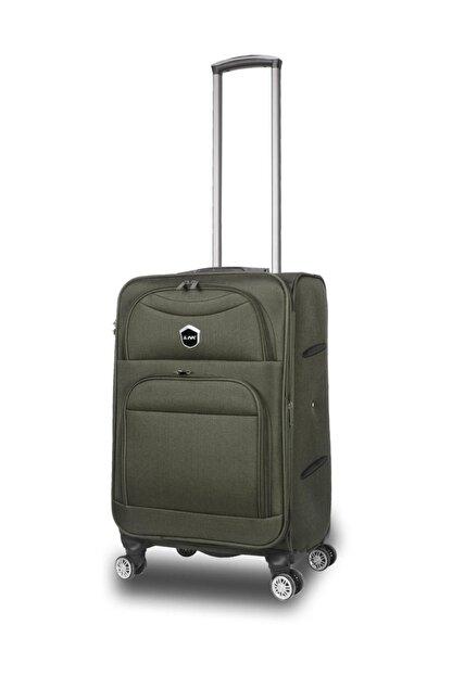 NK Yeşil Unisex Valiz & Bavul K-NKVLZ-010