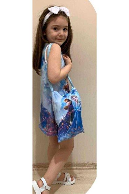 Frozen Elsa 3 Lu Tunik Elbise Trendyol