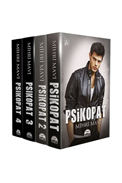 Martı Yayınları Psikopat Serisi Set (4 Kitap) - Mihri Mavi
