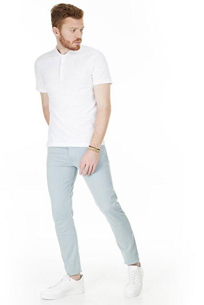 Buratti Erkek AÇIK MAVİ Normal Bel Dar Paça Slim Fit Jeans Pamuklu Kot Pantolon 7299F0287ARTOS