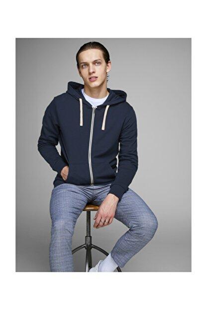 Jack & Jones Sweatshirt - Holmen Sweat Zip Hood 12136884