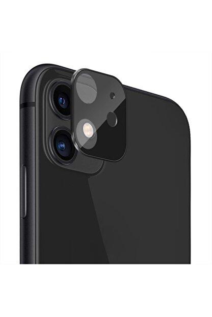 Microsonic Apple Iphone 11 (6.1'') Kamera Lens Koruma Camı V2 Siyah