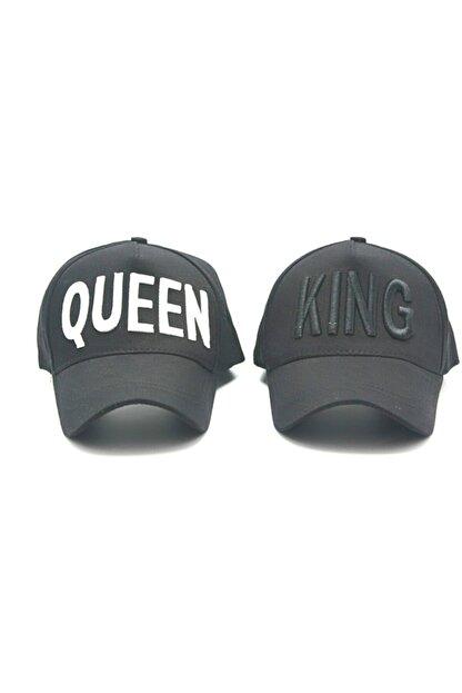 Accesory City Kıng&queen Kombin 2'li Şapka