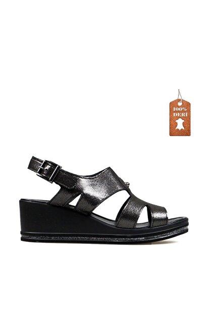 Hammer Jack Sıyah Bayan Terlik / Sandalet 549 Tena-02-z