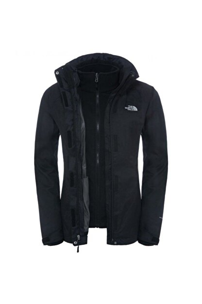 The North Face Evolve Iı Triclimate Outdoor Kadın Ceketi - Siyah T0Cg56Kx7