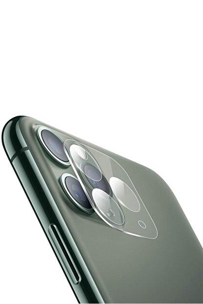 YGT Iphone 11 Pro Max Kamera Koruyucu Temperli Kırılmaz Cam