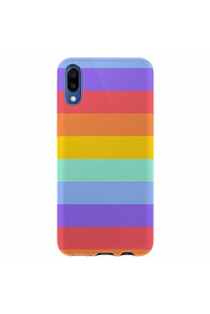 Kılıfland Samsung Galaxy A01 Silikon Resimli Kapak Rainbow Stok 1276