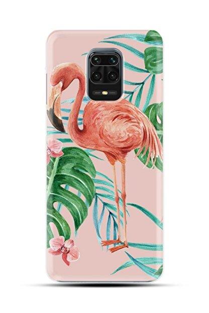 Kılıfland Xiaomi Redmi Note 9s Silikon Resimli Kapak Flamingos Stok 991