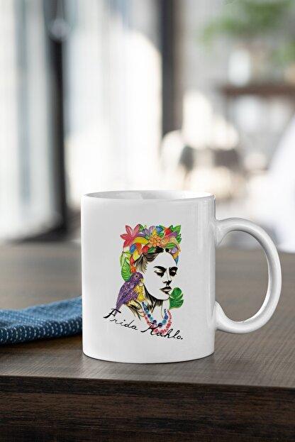 2K Dizayn Frida Kahlo Tasarım Kupa Bardak