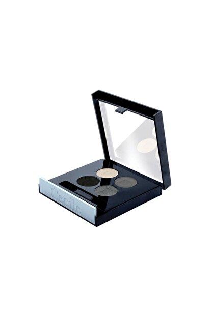 Dünya Cecile Matte Quattro Eyeshadow 4lü Far 801 Grey Effect